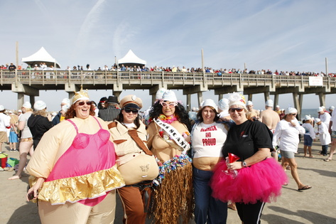 "Some of the ""Goofs"" in the 2011 Polar Plunge"