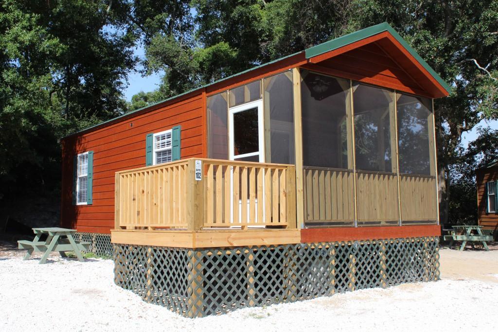 Enjoyable Camping Cabins In Tybee Island Savannah Gas Beach Download Free Architecture Designs Osuribritishbridgeorg