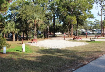 Tybee Island Tent Sites