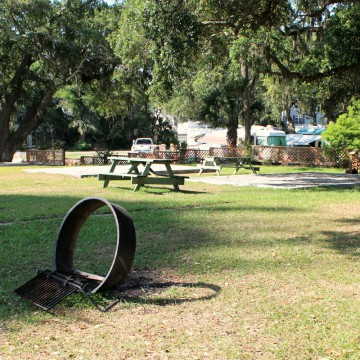 campsites on tybee island