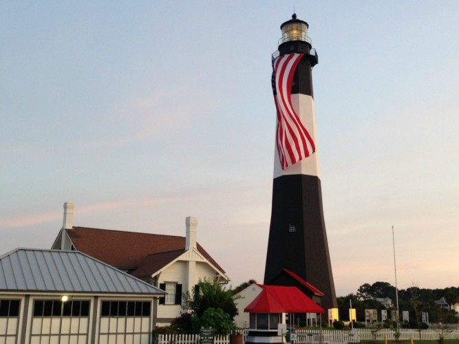 End Campground Near Tybee Island Lighthouse
